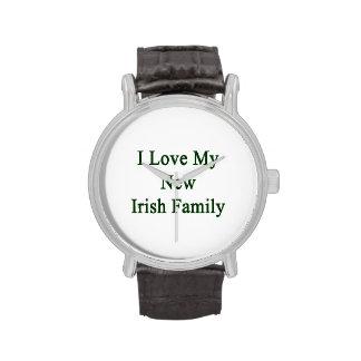 I Love My New Irish Family Wrist Watch