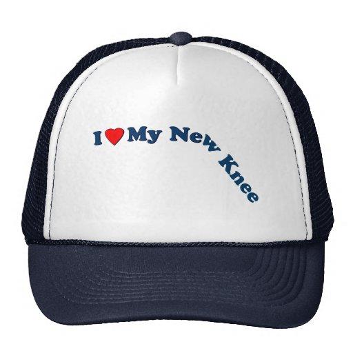I Love My New Knee Mesh Hat