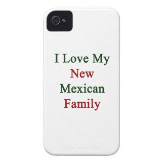 I Love My New Mexican Family iPhone 4 Case-Mate Case