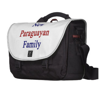 I Love My New Paraguayan Family Commuter Bags