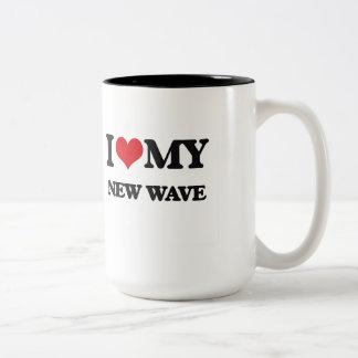 I Love My NEW WAVE Coffee Mug
