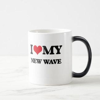 I Love My NEW WAVE Coffee Mugs