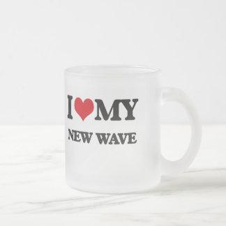 I Love My NEW WAVE Mugs