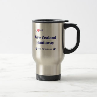 I Love My New Zealand Huntaway (Male Dog) Travel Mug