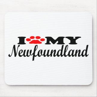 I Love My Newfoundland Mousepads