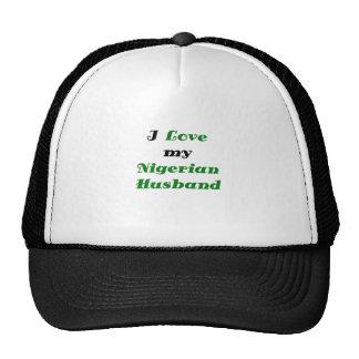 I Love my Nigerian Husband Trucker Hat