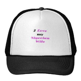 I Love my Nigerian Wife Trucker Hat