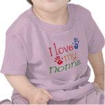 I Love My Nonna Handprints Tee Shirt