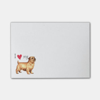 I Love my Norfolk Terrier Post-it® Notes