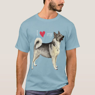 I Love my Norwegian Elkhound T-Shirt