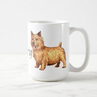 I Love my Norwich Terrier Coffee Mugs