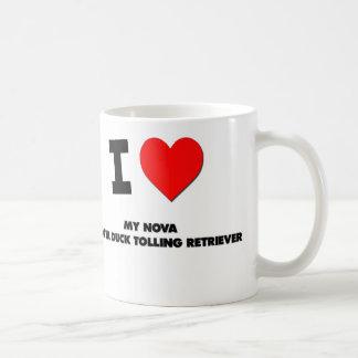 I Love My Nova Scotia Duck Tolling Retriever Coffee Mug
