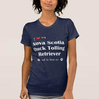 I Love My Nova Scotia Duck Tolling Retriever (He) T-Shirt