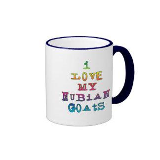 I Love My Nubian Goats Mug