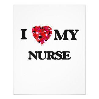 "I love my Nurse 4.5"" X 5.6"" Flyer"
