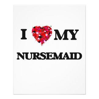 "I love my Nursemaid 4.5"" X 5.6"" Flyer"