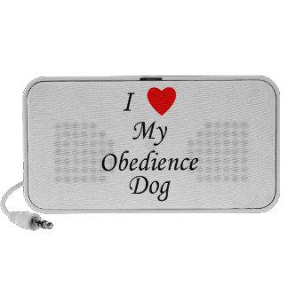 I Love My Obedience Dog Mini Speaker