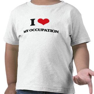I Love My Occupation Tee Shirts