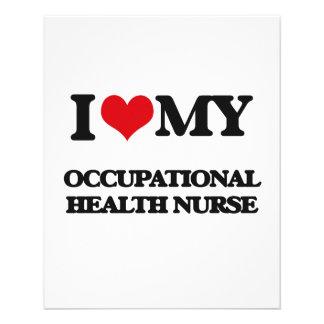 I love my Occupational Health Nurse Flyers