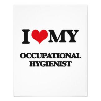 I love my Occupational Hygienist Custom Flyer