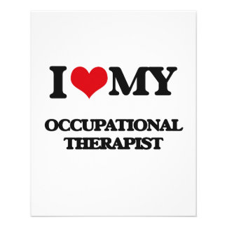 I love my Occupational Therapist Personalized Flyer