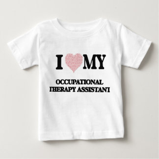 I love my Occupational Therapy Assistant (Heart Ma Shirt