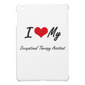 I love my Occupational Therapy Assistant iPad Mini Covers