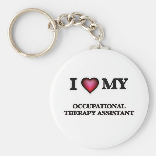 I love my Occupational Therapy Assistant Key Ring