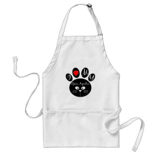 i love my Ojos Azules. Adult Apron