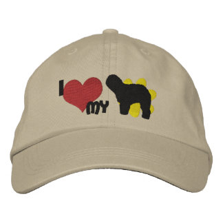 I Love my Old English Sheepdog Embroidered Hats