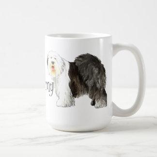 I Love my Old English Sheepdog Classic White Coffee Mug