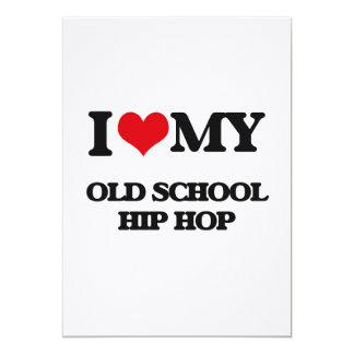 I Love My OLD SCHOOL HIP HOP Custom Announcements