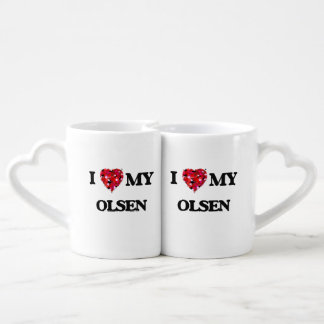 I Love MY Olsen Lovers Mug