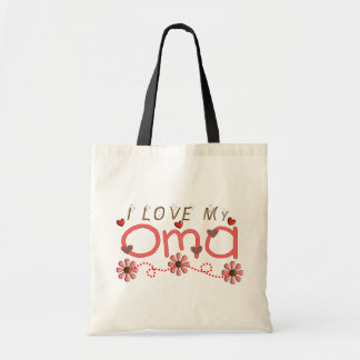 I Love My OMA Gifts Tote Bag