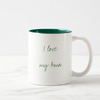 I love my Oma Two-Tone Coffee Mug