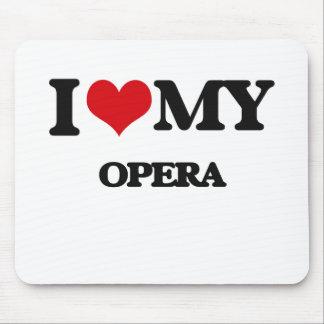 I Love My OPERA Mouse Pad