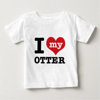 I love my otter baby T-Shirt
