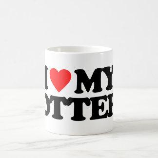 I LOVE MY OTTER COFFEE MUG