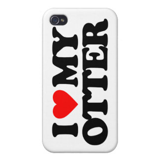 I LOVE MY OTTER iPhone 4/4S CASE