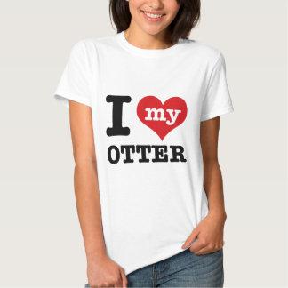 I love my otter t-shirt