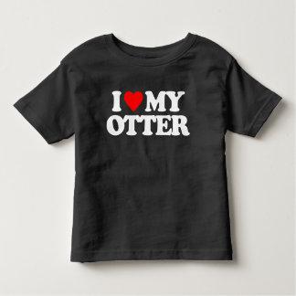 I LOVE MY OTTER T-SHIRTS
