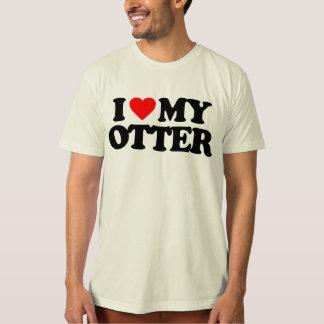 I LOVE MY OTTER T SHIRTS