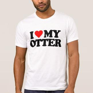 I LOVE MY OTTER TSHIRTS
