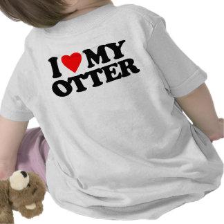 I LOVE MY OTTER TSHIRT