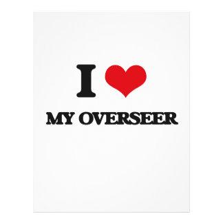 I Love My Overseer Flyer Design