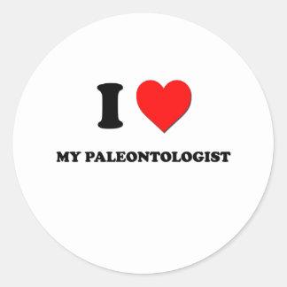 I love My Paleontologist Sticker