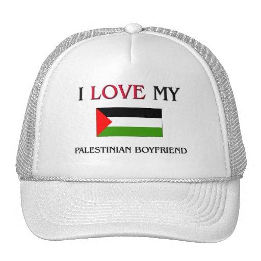 I Love My Palestinian Boyfriend Mesh Hats