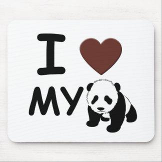 I love my panda mouse mat