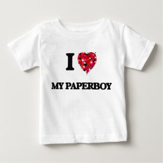 I Love My Paperboy Infant T-Shirt