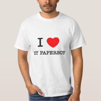 I Love My Paperboy T-Shirt